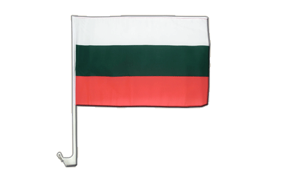 Car Flag Bulgaria - 12x16""