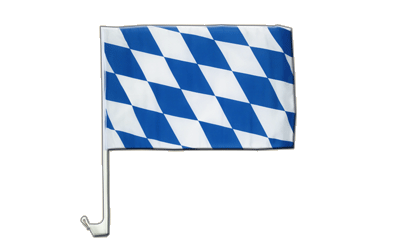 Car Flag Bavaria without crest - 12x16""