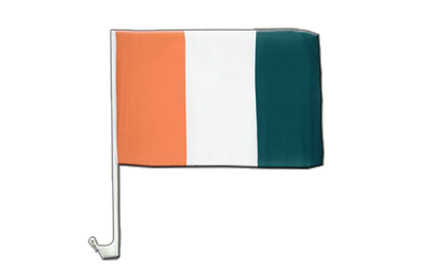 Car Flag Ivory Coast - 12x16""