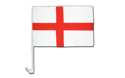 Car Flag England St. George - 12x16""