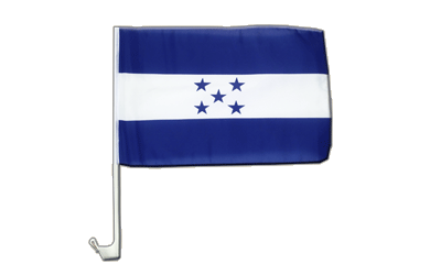 Car Flag Honduras - 12x16""