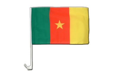 Car Flag Cameroon - 12x16""