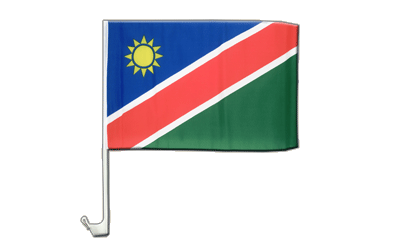 Namibia Car Flag 12x16""
