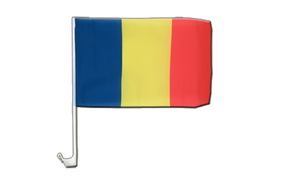 Car Flag Rumania - 12x16""