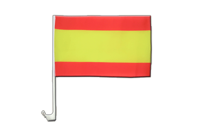 Car Flag Spain without crest - 12x16""