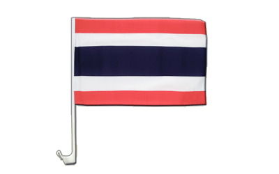 Car Flag Thailand - 12x16""