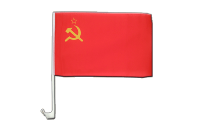 USSR Soviet Union Car Flag