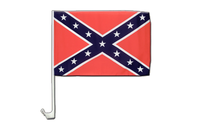 Car Flag USA Southern United States - 12x16""