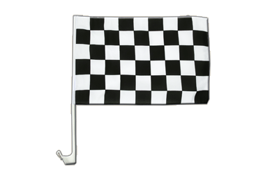 Checkered Car Flag 12x16""
