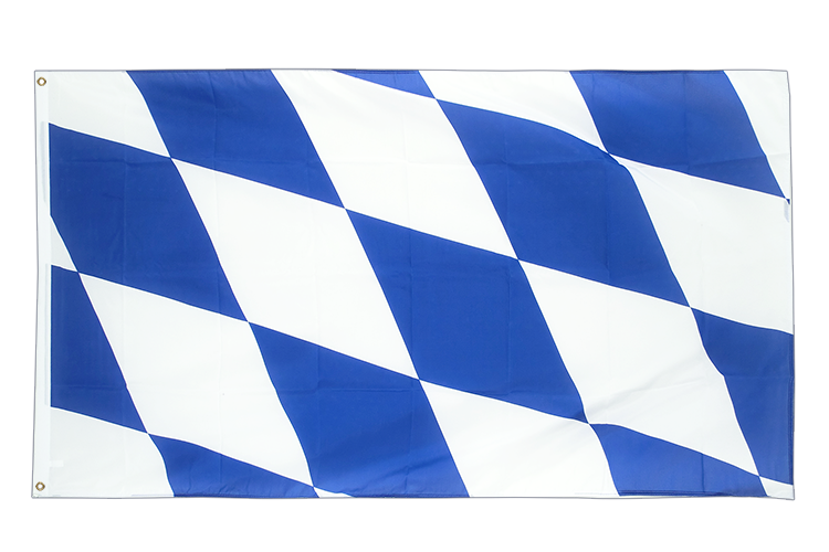 Large Flag Bavaria without crest - 5x8 ft (big and giant)
