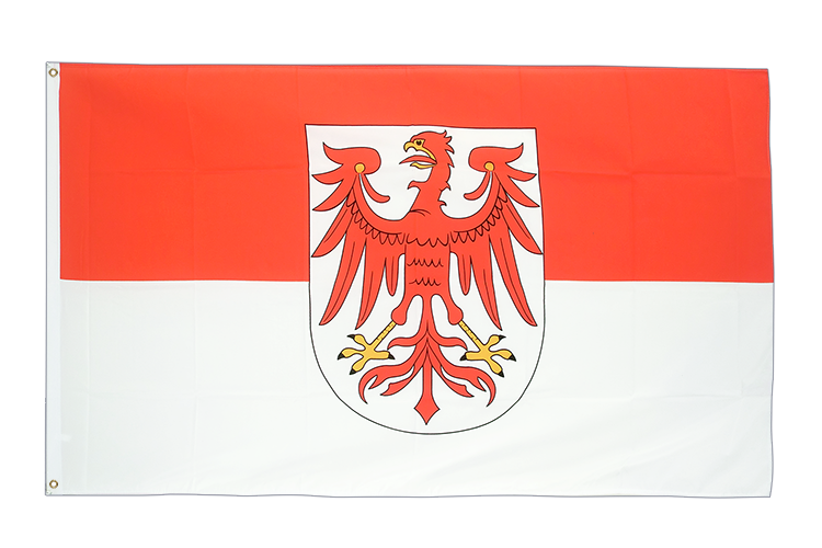 Large Brandenburg Flag 5x8 ft (big and giant)