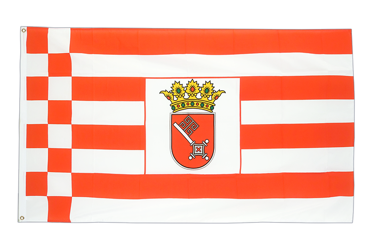 Large Flag Bremen - 5x8 ft