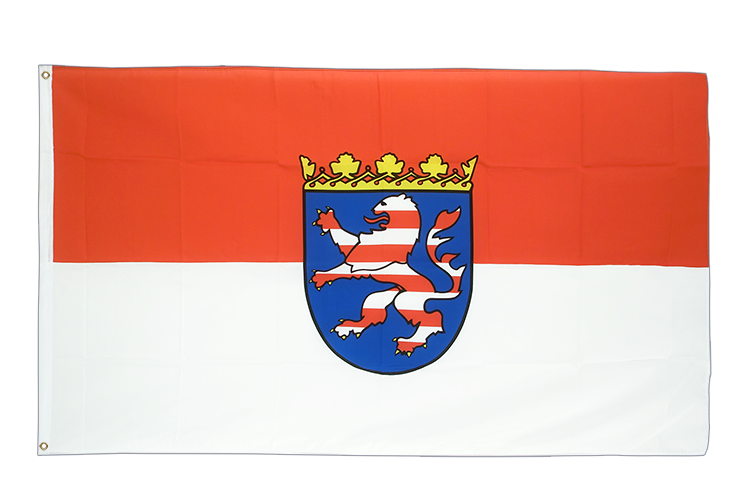 Large Flag Hesse - 5x8 ft (big and giant)