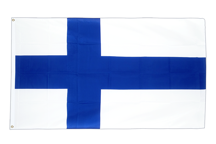 Large Flag Finland - 5x8 ft