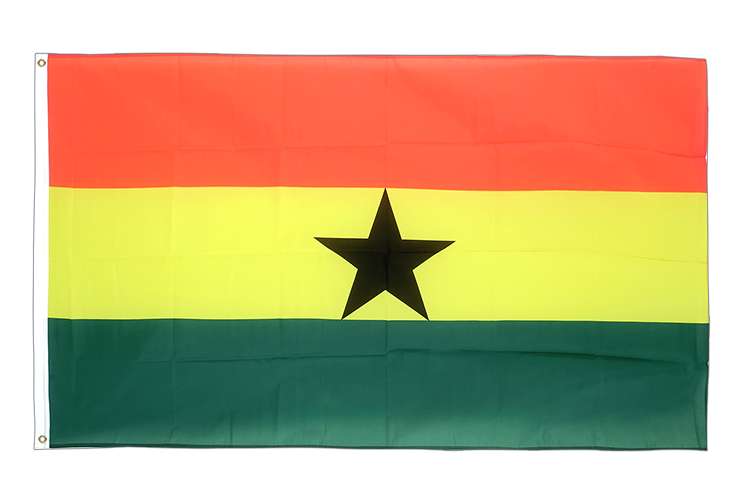 Large Flag Ghana - 5x8 ft (big and giant)