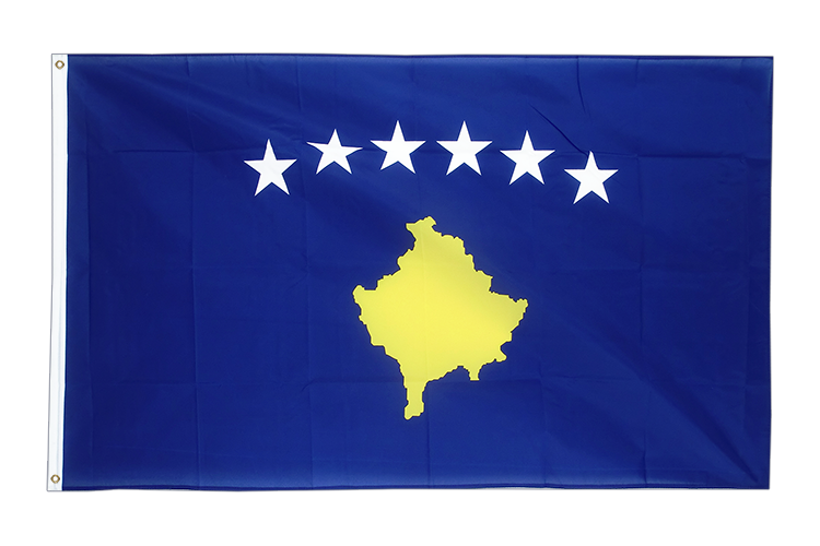 Large Flag Kosovo - 5x8 ft
