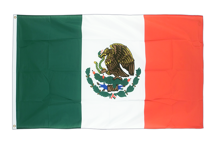 Large Flag Mexico - 5x8 ft (big and giant)