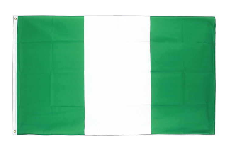 Large Flag Nigeria - 5x8 ft