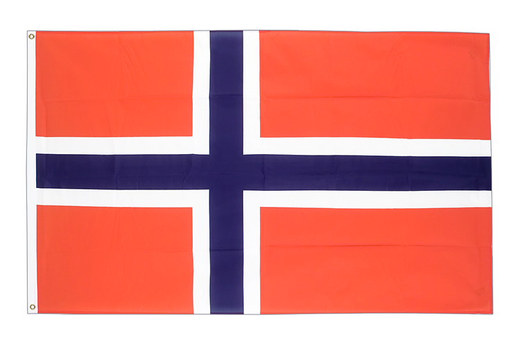 Large Flag Norway - 5x8 ft