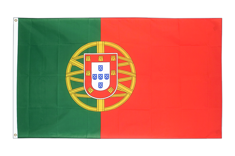Grand drapeau Portugal 150x250cm