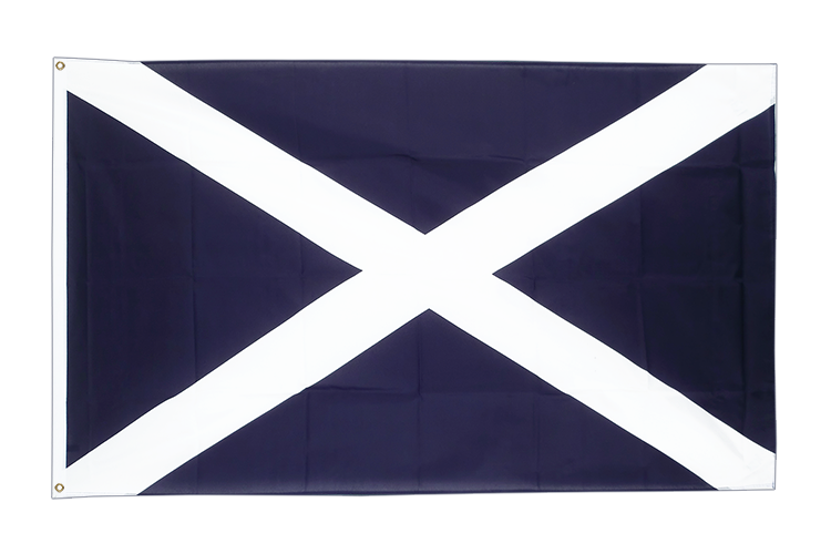 Large Scotland navy Flag 5x8 ft (big and giant)