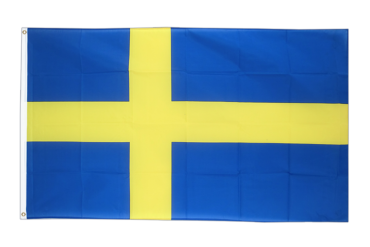 Large Flag Sweden - 5x8 ft (big and giant)