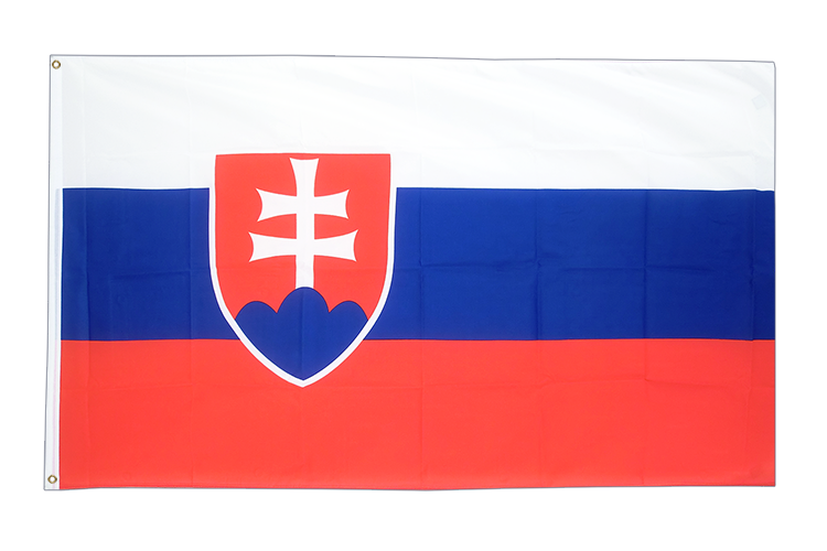 Large Flag Slovakia - 5x8 ft (big and giant)