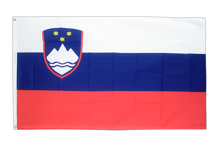 Large Slovenia Flag 5x8 ft (big and giant)