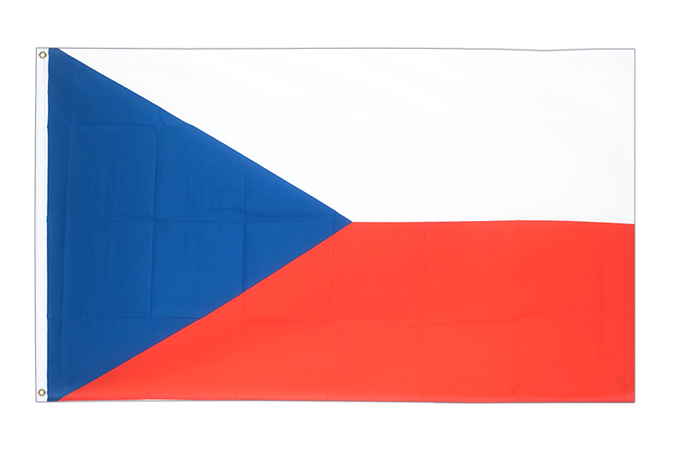 Large Flag Czech Republic - 5x8 ft (big and giant)