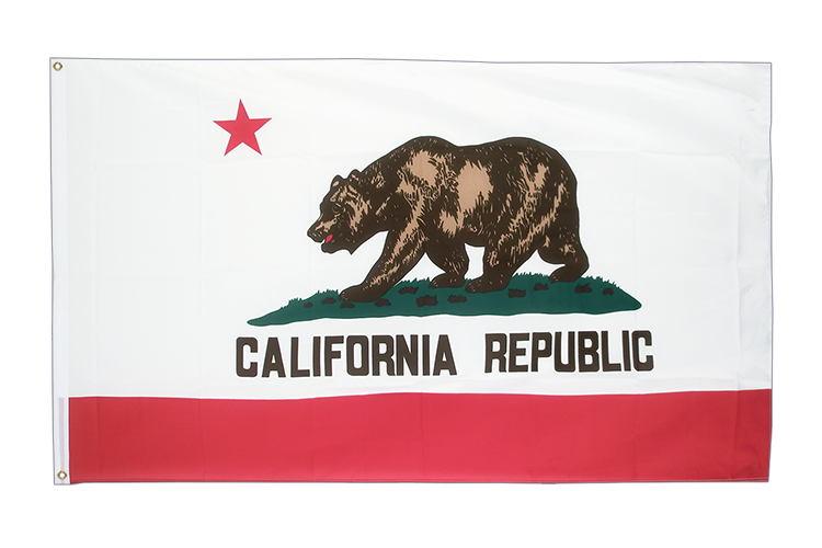 Large Flag California - 5x8 ft