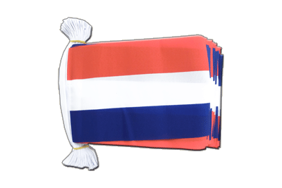 Flag Bunting Netherlands - 6x9""