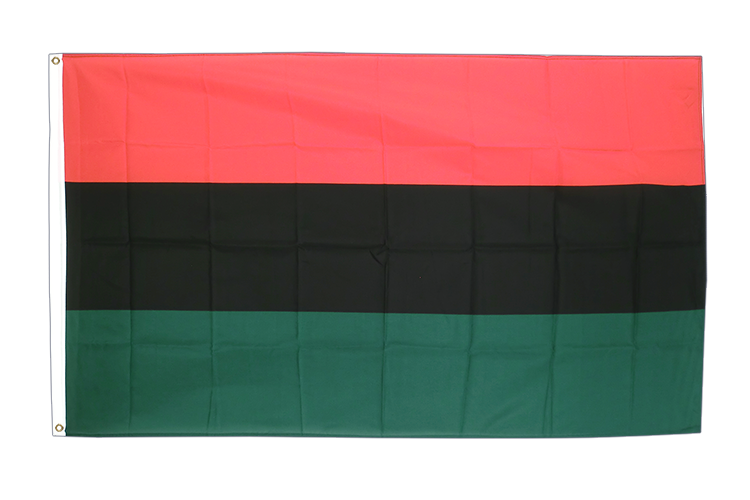 African American - 3x5 ft Flag