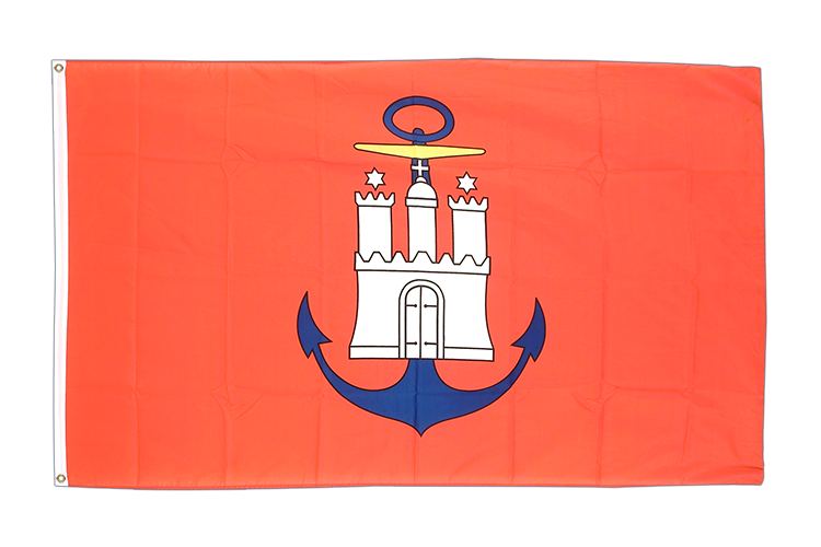 Hamburg port - 3x5 ft Flag