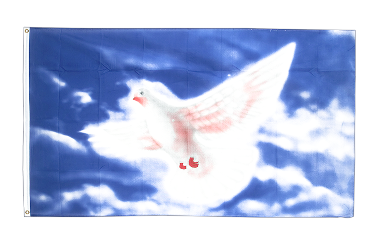 Dove of peace - 3x5 ft Flag