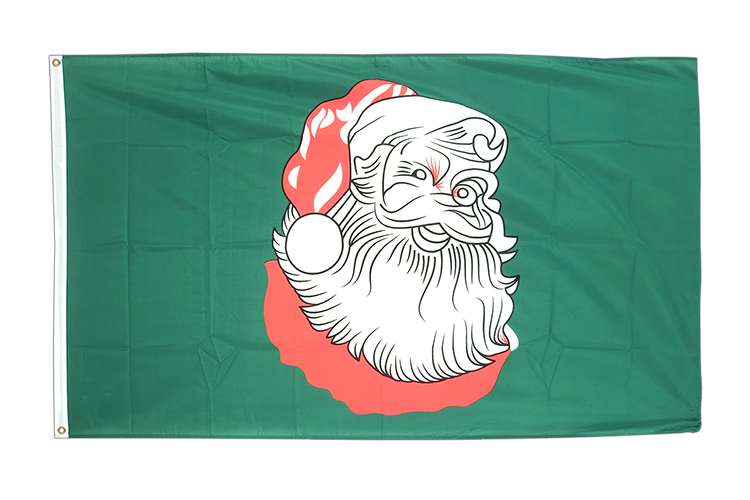 Flag Santa Claus - 3x5 ft