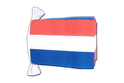 Flag Bunting Luxembourg - 6x9""