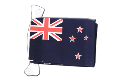 Flag Bunting New Zealand - 6x9""