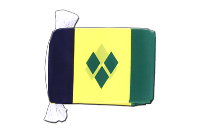 Flag Bunting Saint Vincent and the Grenadines - 6x9""