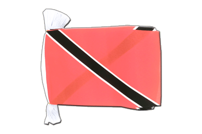Flag Bunting Trinidad and Tobago - 6x9""