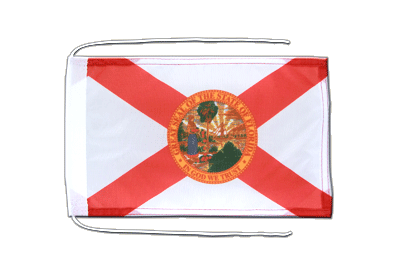 Flag with ropes Florida - 8x12""