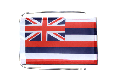 Flag with ropes Hawaii - 8x12""