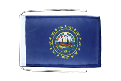 New Hampshire Flagge 20 x 30 cm