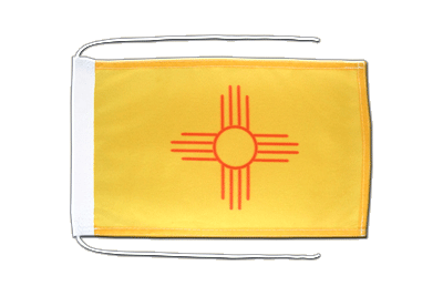 New Mexico Flagge - 20 x 30 cm