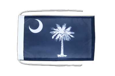 South Carolina Flagge - 20 x 30 cm