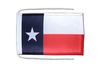 Flag with ropes Texas - 8x12""