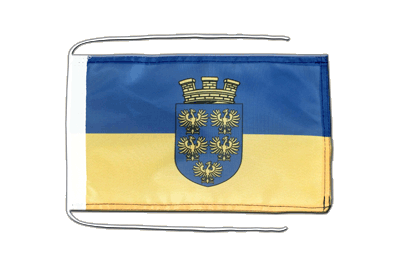 Flag with ropes Lower Austria - 8x12""