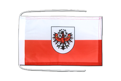 Flag with ropes Tyrol - 8x12""