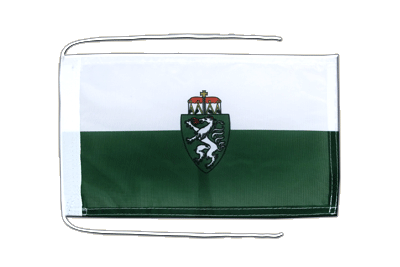 Flag with ropes Styria - 8x12""