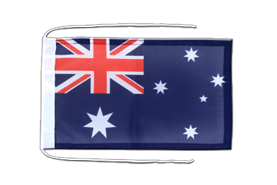 Flag with ropes Australia - 8x12""