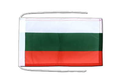 Flag with ropes Bulgaria - 8x12""